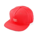 크룩스앤캐슬(CROOKS & CASTLES) Woven Snapback Cap - Core Logo (True Red)
