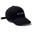TV BALL CAP BLACK - [MU]