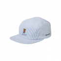화이트블랭크레이블(WHITE BLANK LABEL) [HNK] Junk Now Pin Stripe Camp Cap(SKY BLUE)