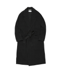 라이풀(LIFUL) MINIMAL ROBE COAT black