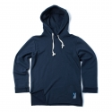 로맨틱크라운(ROMANTIC CROWN) [ROMANTICCROWN]RAW HOODIE_NAVY