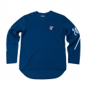 로맨틱크라운(ROMANTIC CROWN) [ROMANTICCROWN]BALLIN crewneck_BLUE