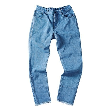 르반_ROLL-UP POINT JEANS