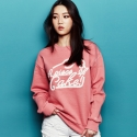 어피스오브케이크(APOC) Big logo Crew neck T-shirt
