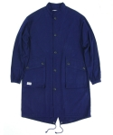 언커먼 팩터스(UNCOMMON FACTORS) INDIGO TWILL TACTICAL FISHTAIL COAT