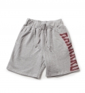 브라운브레스(BROWNBREATH) HARD SWEAT SHORTS GREY