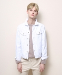 게버딘(GABARDINE) Normal Denim Jacket (White)