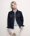 Normal Denim Jacket (Dark Blue)