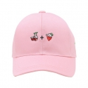 프래쉬프루트(FRESHFRUIT) [FRESHFRUIT]CHERRY + STRAWBERRY PINK CAP