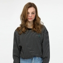 비긴어게인인패션(BAF) BAF_890 STRIPE LONG SHIRTS (BALCK)