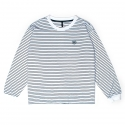 비긴어게인인패션(BAF) BAF_890 STRIPE LONG SHIRTS (WHITE)