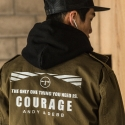 앤디앤뎁 커리지(ANDY&DEBB COURAGE) [C6AMB4007M] COURAGE LOGO M-65 JACKET-007
