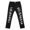 네스티팜(NASTY PALM) [NYPM] NXM DAMAGED DENIMPANTS (BLK)