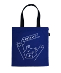 애니메이트(ANIMATE) [ANIMATE]BEAR ECO BAG(navy)