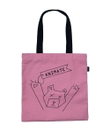 [ANIMATE]BEAR ECO BAG(pink)
