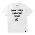 SUPPORTER TEE White
