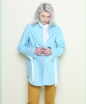 Cuffs long shirt (Skyblue)