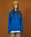 리우(LIEU) Layered Hood [BLUE]