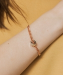 시에스타(SIESTA) CHAIN BANGLE [ROSE GOLD]