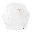 WORLDWIDE UNION L/S TEE White