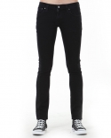 누디진() [NUDIE JEANS] Tight long john org black on black 111552