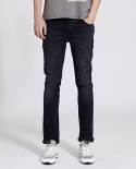 누디진() [NUDIE JEANS] Thin finn black dust 111686