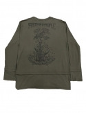 프리플(FREEPLE) NOW t-shirt (khaki)