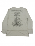프리플(FREEPLE) NOW t-shirt (beige)