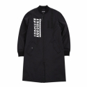 어드바이저리() AD BASIC LONG MA-1 JACKET BLACK