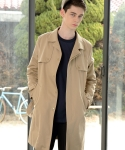 Double-A trench coat 트렌치 맥코트 (beige)