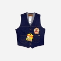 UNLINED DENIM VEST (FOX)