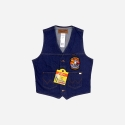 UNLINED DENIM VEST (VF-31)