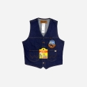 UNLINED DENIM VEST (WESTPAC)