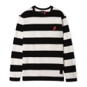 [Bravado] THE ROLLING STONES STRIPE BORDER T-SHIRTS BLACK