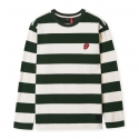 브라바도(BRAVADO) [Bravado] THE ROLLING STONES STRIPE BORDER T-SHIRTS GREEN