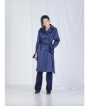 메리먼트(MERRIMENT) D RING TRENCH COAT (NAVY)