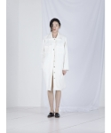 메리먼트(MERRIMENT) TWEED LONG JACKET (WHITE)