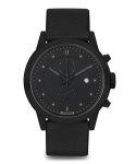 하이퍼그랜드(HYPERGRAND) Chrono Blackout - Black Leather Classic