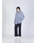메리먼트(MERRIMENT) LOOSE SLACKS (NAVY)