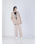 메리먼트(MERRIMENT) LOOSE SLACKS (BEIGE)