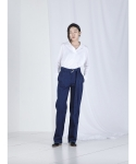 메리먼트(MERRIMENT) D BELT DENIM PANTS (NAVY)