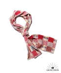 그랜드비전(GRANDVISION) GRAND VISION SCARF - DOT & CHECK (RED)