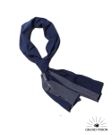 그랜드비전(GRANDVISION) GRANDV VISION SCARF - 2WAY DOT & STRIPE (NAVY)