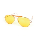 로스코(ROTHCO) AIR FORCE STYLE SUNGLASS (YELLOW)