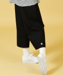 슬로우애시드() [UNISEX] Wide Slacks Pants(Black)