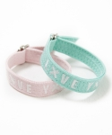 슬로우애시드(SLOW ACID) Stitch Belt Bracelet(Pink/Mint)