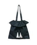 JORI  TASSEL  BAG_P.BLACK
