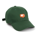 1LOVE BALL CAP GREEN - [MU]