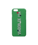 비아봉드비아(VIABON DE VIA) VDV LOGO IPHONE CASE (GREEN)