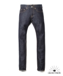 그랜드비전(GRANDVISION) 16 FS M01 RAW DENIM DEEP BLUE DESIGEND EXCLUSIVELY FOR MUSINSA